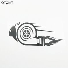 Stylish Car Stickers DUB Drift Race Car Styling Turbo Snail Cool Anime Decals Car Styling Sticker For Toyota Bmw Skoda - $4.99