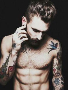 Tattoos and Beards