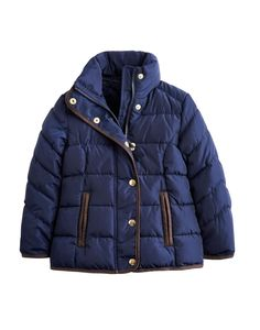 French Navy Jnr thorpe Girls' Padded Jacket | Joules US
