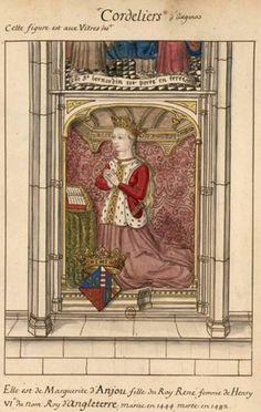12.25.13.  Death of Margaret of Anjou, widow of Henry VI (1482)