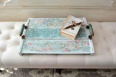 Shabby Vintage Tray~
