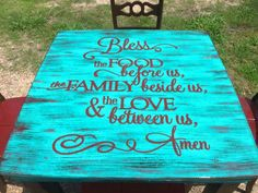 Absolutely love this table... (Diy Kitchen Table)