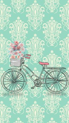 Bicycle Vintage - wallpapers for phone- iphone