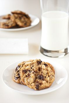chocolate walnut Oat biscuits