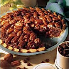 Chocolate Chip Pecan Pie Recipe - wonder if this tastes anything like the Choc. Chip Pecan Pie from Cracker Barrel.....