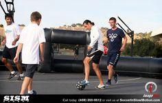 Soccer In Slow Motion with Bazooka Goal Team member Louie Mata. San Jose, CA #StreetSoccer