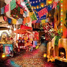 Dia De Muertos La Catrina Day of the Dead Backdrop All Bts Mode, Mexican Restaurant Design, Day Of Dead, Cultures Du Monde, All Souls Day, Mexico Culture, All Saints Day, Mexican Art, Backdrops For Parties