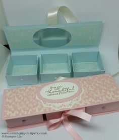 Ann's Happy Stampers: Beautiful Reinforced Jewelry/Keep sake Gift Box
