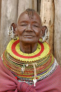 Turkana woman - Kenya, Africa - by Jeff Arnold African Tribes, African Women, African Art, Cultures Du Monde, World Cultures, We Are The World, People Around The World, Beautiful World, Beautiful People