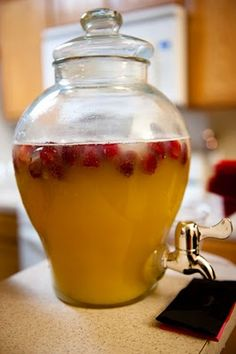 Punch - Orange Juice, Pineapple Juice, and Gingerale