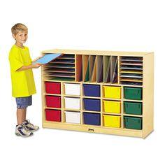 Jonti Craft Jnt0416jc Sectional Mobile Cubbie Birch 813 99 On Bookcases Galore