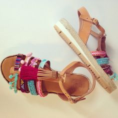 A personal favorite from my Etsy shop https://www.etsy.com/listing/233617110/bohemian-ethnic-leather-sandals