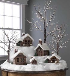 Sweetest Christmas Village Decoration Idea by Perle di Saggezza (Waiting Christmas)