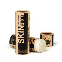 mini eco packaging kraft paper empty lip balm tube