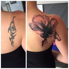 #cover#up #Tribal  Tattoo Flower