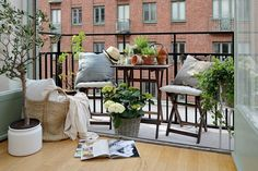 Un apartamento compacto con estilo nórdico