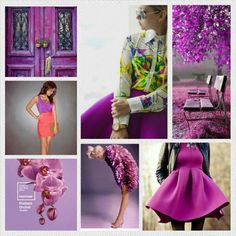 """It's officially spring! With this beautiful weather comes the desire to brighten up your wardrobe. Trend alert: the color of the year is """"radiant orchid"""" ....basically all of the beautiful shades of an orchid (mauve/fuschia/lilac/magenta, etc)."""