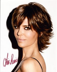 Model, TV Host, Actress and Soap Star Lisa Rinna Hand Signed Photo - Available at TnTCollectibles.com