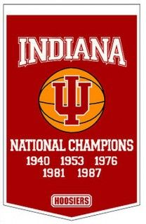 Indiana University Championship Banner