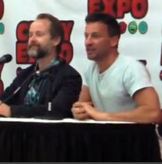 Billy Boyd and Craig Parker at Cincinnati Comic Expo