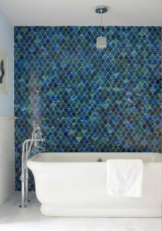 40 ideas of mosaics in the bathroom when interior design becomes a work of art photo 11