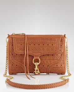 Rebecca Minkoff perf weave MAC handbag