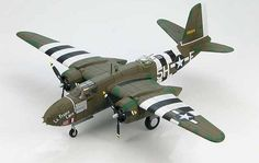 Hobbymaster 1:72 Douglas A-20G Diecast Model Airplane HA4201 This Douglas A-20G Havoc 43-9224 `La France Libre` (USAAF 668BS 416BG 1944) Diecast Model Airplane features working propellers. It is made by Hobbymaster and is 1:72 scale (approx. 29cm / 11.4in wingspan). General Background With war approaching America knew it would be called upon to aid their Allies so a new aircraft would need to be developed. Douglas Aircraft designer Ed Heinemann's DB-7/A-20 was chosen to be the new…