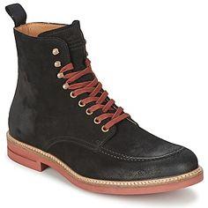 Esta #bota para hombre Hum diseñada por la marca Serge Blanco tiene mucho estilo. Su color negro, su corte en piel y su interior cuero la convierten en el modelo indispensable. ¡No busques más, es perfecta! #zapatoshombre #zapatos