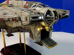 Post with 1979 views. The Best Ghost Model You'll Ever See (By Randy Cooper) Star Wars Film, Star Wars Fan Art, The Ghost Star Wars, Mandalorian Ships, Maquette Star Wars, Star Wars Spaceships, Star Wars Models, Sci Fi Models, Ghost Ship