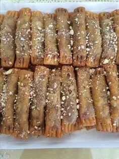 Greek Sweets, Greek Desserts, No Cook Desserts, Greek Recipes, Desert Recipes, Greek Baklava, Cyprus Food, Desserts With Biscuits, Greek Cooking
