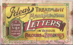 Vintage Typography by Toby Jeffery, via Flickr