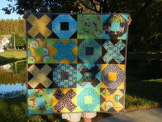 Image of Xs and Os PDF quilt pattern