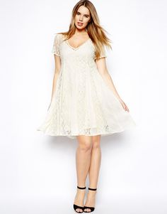 ASOS lace swing dress