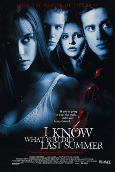 """I Know What You Did Last Summer (1997) -Jim Gillespie  (First """"Modern"""" Viewing) 2 out of 5 (July)"""