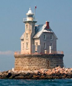 Lighthouse of Race Rock, NY