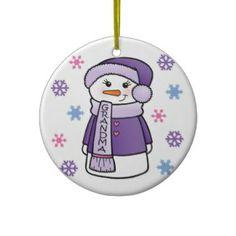 World's Best Grandma Christmas Tree Ornament Holiday Gifts, Christmas Gifts, Holiday Decor, Christmas Tree Ornaments, Christmas Holidays, Xmas Decorations, Personalized Gifts, Gift Ideas, Purple