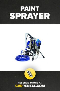 Get a professional finish with the speed and efficiency of a paint sprayer. Rental rates start at just $25 for 3 hours.