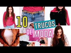 10 TRUCOS DE MODA QUE TODA CHICA DEBE SABER | La Princesa Glam - YouTube #fashion