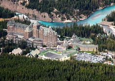 Banff Springs Hotel - Lake Louise Canada