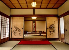 Traditional Japanese dinning room
