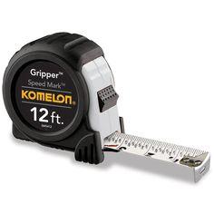 """Komelon USA SM5412 12' X 5/8"""" Speedmark Tape Measure"""