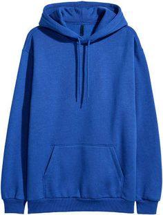 Hooded Sweatshirt H&M Hooded Sweatshirt – Blue - Sweatshirt Shorts E Blusas, Trendy Hoodies, Flirt, Hoodie Outfit, Swagg, Hooded Sweatshirts, Hooded Jacket, Cute Outfits, Trendy Outfits