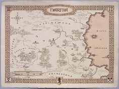 Peter's map of Narnia, by Daniel Reeve