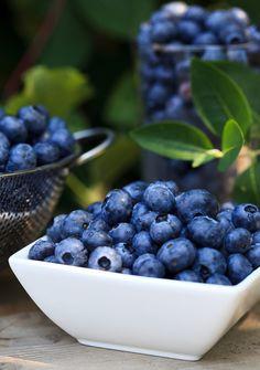 I love blueberries! Full of antioxidants!
