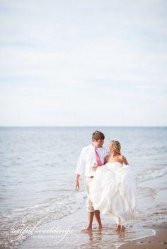 New England Beach Wedding, Beach Wedding Photos, Beach Wedding Photo Shoot www.loveitsomuch.com
