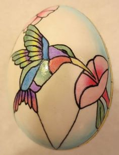 Stained Glass technique using PysankyUSA products by Karen Hanlon