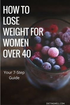 You need a new approach for weight loss after 40. Instead of quick fixes that don't work, here are seven steps to take to develop healthy habits and combat weight gain. | https://dietingwell.com/weight-loss-after-40/