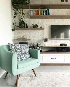 Home Living Room, Dream Decor, Home N Decor, Living Dining Room, Snug Room, Home Decor, Interior Design, Living Decor, Living Room Tv Wall