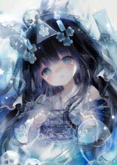 Lolis Anime, Manga Anime Girl, Sad Anime Girl, Pretty Anime Girl, Anime Child, Kawaii Anime, Anime Drawing Styles, Anime Girl Drawings, Cool Anime Pictures
