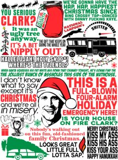 National Lampoon's Christmas Vacation Movie Quote Mashup T Shirt Source by aeem Look t-shirt Christmas Vacation Quotes, Christmas Humor, Christmas Holidays, Funny Christmas Movie Quotes, Best Christmas Quotes, Christmas Vinyl Crafts, Christmas Ideas, Xmas Quotes, Christmas Shows